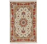Link to 3' 3 x 5' 1 Tabriz Persian Rug