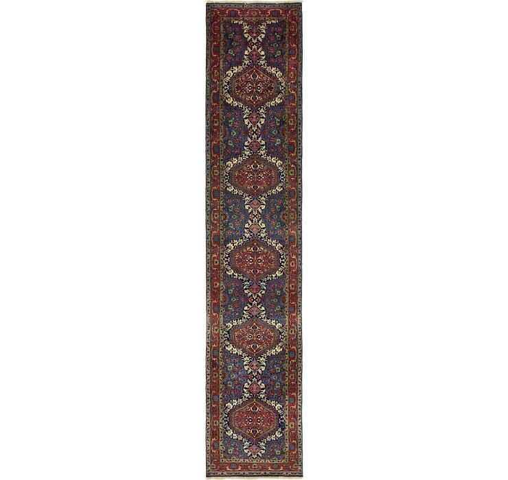 3' 2 x 16' Tabriz Persian Runner Rug