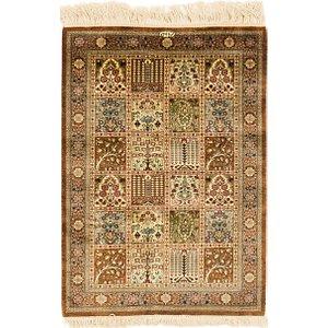 Link to 60cm x 90cm Qom Persian Rug item page