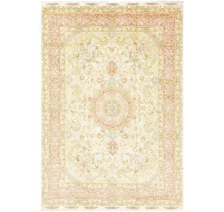 8' x 11' 10 Tabriz Persian Rug