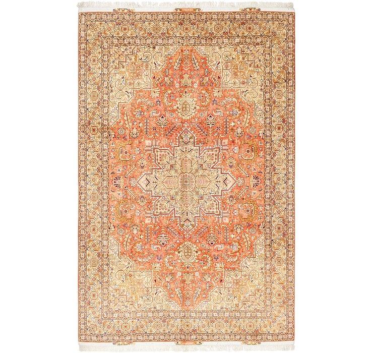 6' 6 x 10' 4 Tabriz Persian Rug