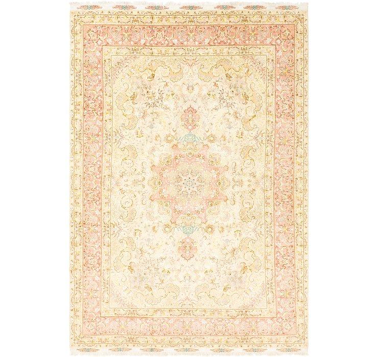 8' x 12' Tabriz Persian Rug
