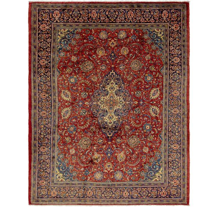 10' x 12' 9 Isfahan Persian Rug