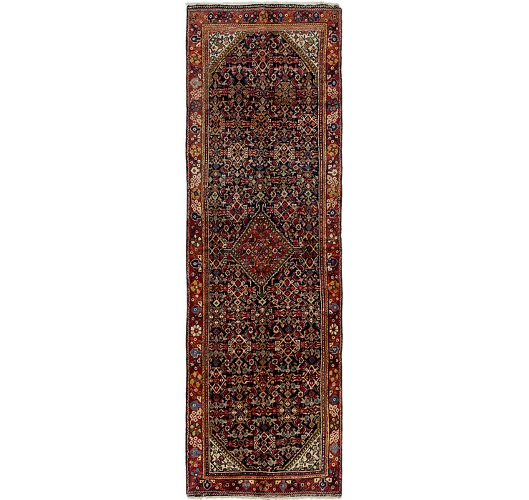 117cm x 370cm Hossainabad Persian Run...