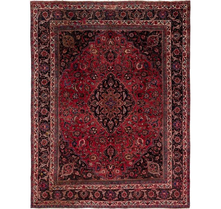 9' 6 x 12' 2 Mashad Persian Rug