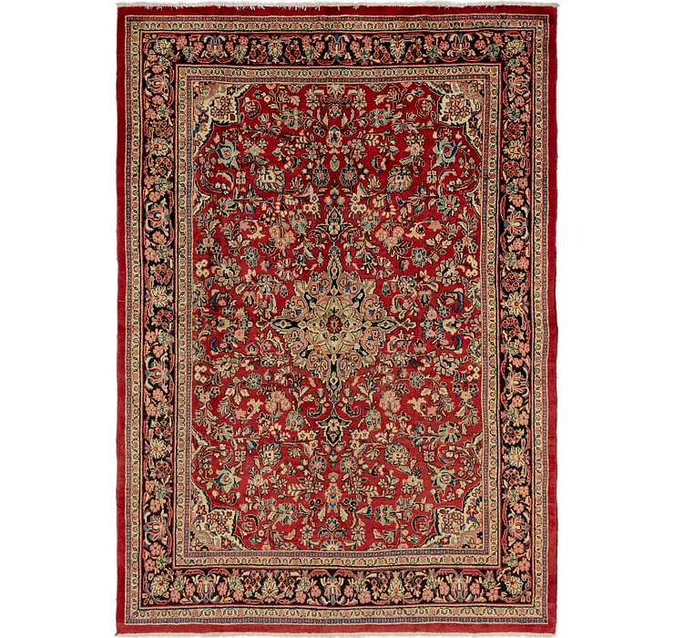 8' 8 x 12' 8 Meshkabad Persian Rug
