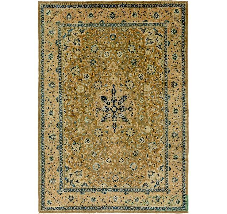 9' x 12' 10 Mashad Persian Rug