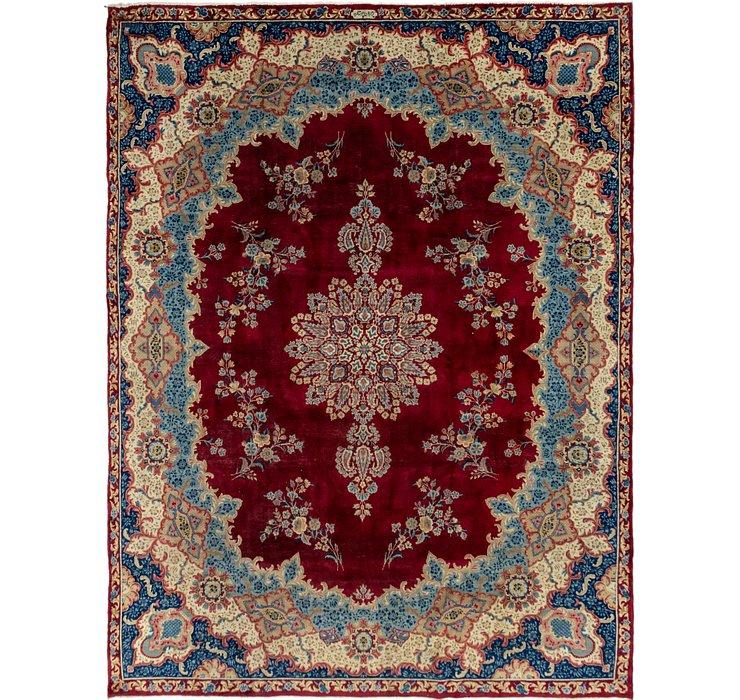 9' 10 x 13' Yazd Persian Rug