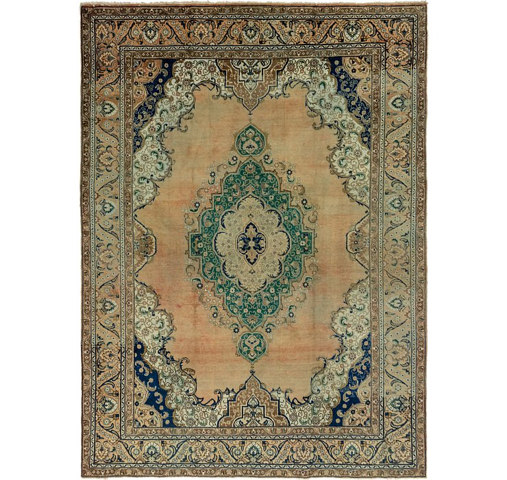 9' 8 x 13' 4 Tabriz Persian Rug