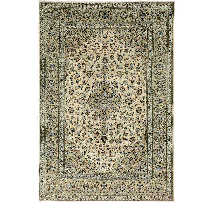 8' x 11' 9 Kashan Persian Rug