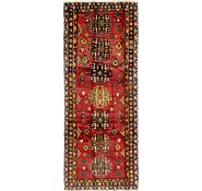 Link to 137cm x 335cm Heriz Persian Runner Rug