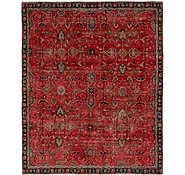 Link to 7' 7 x 9' 2 Tabriz Persian Rug