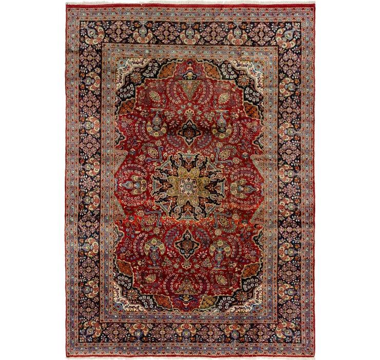 8' 1 x 11' 5 Kashan Persian Rug
