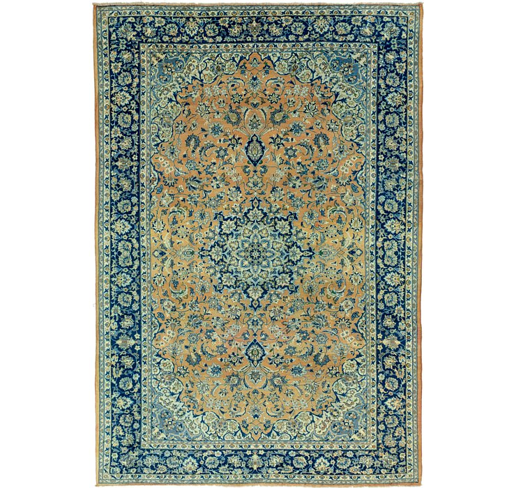 8' 10 x 13' Isfahan Persian Rug