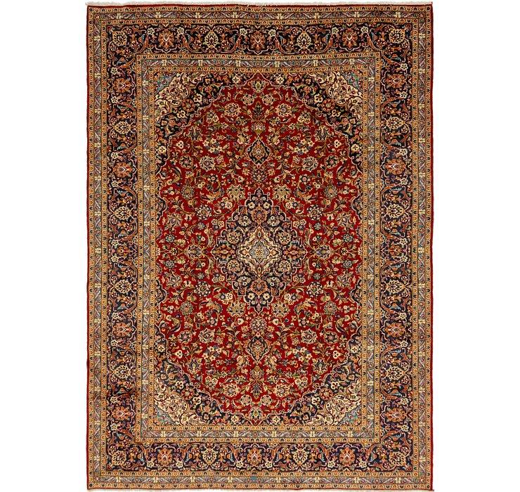 9' 9 x 13' 8 Kashan Persian Rug