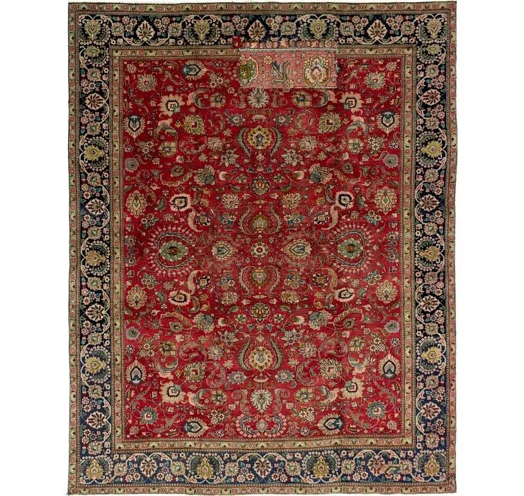 275cm x 353cm Tabriz Persian Rug