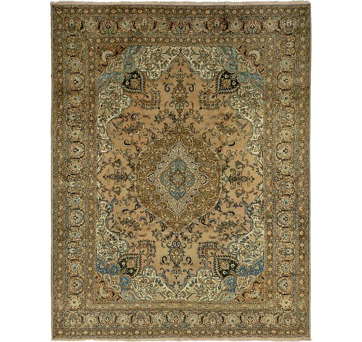 10' 5 x 13' 5 Tabriz Persian Rug