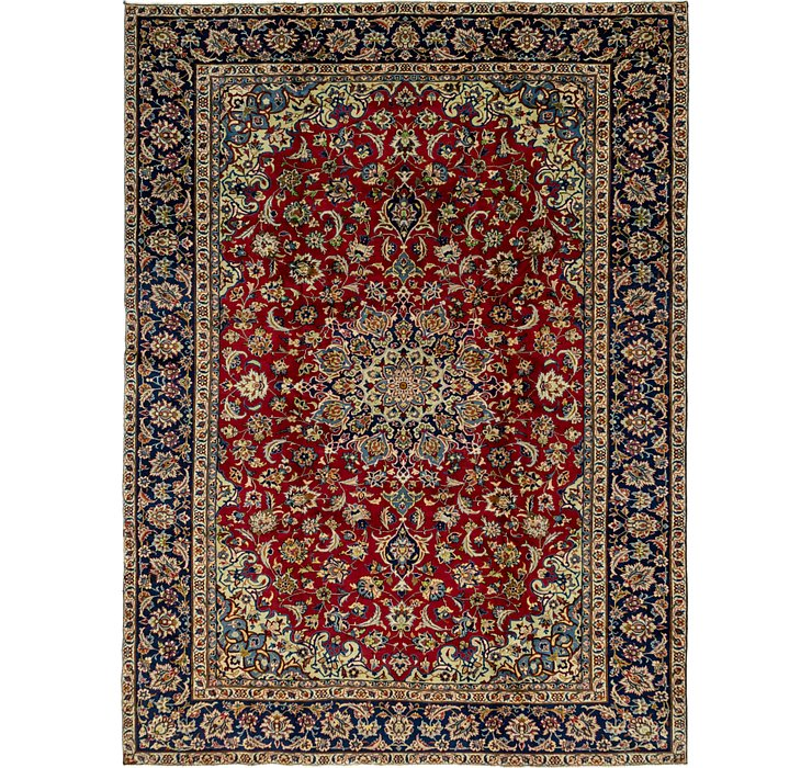 HandKnotted 9' 5 x 13' Isfahan Persian Rug