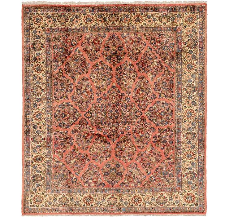 7' 4 x 8' 4 Shahrbaft Persian Squar...
