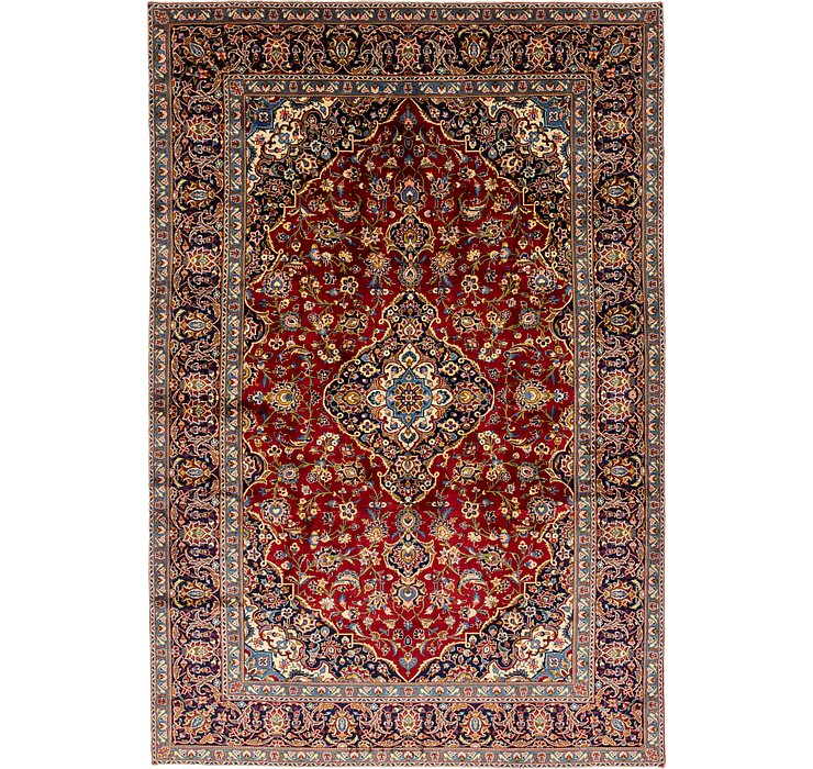 HandKnotted 8' 3 x 12' 5 Kashan Persian Rug