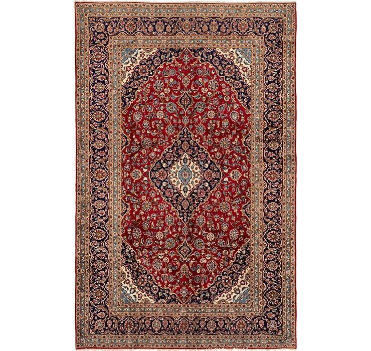 7' 9 x 12' 8 Kashan Persian Rug
