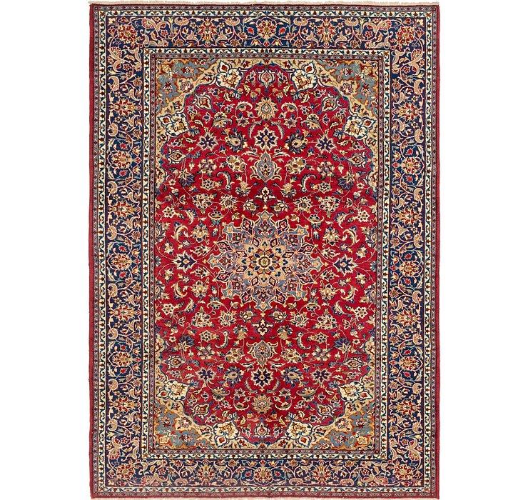 7' 4 x 11' Isfahan Persian Rug