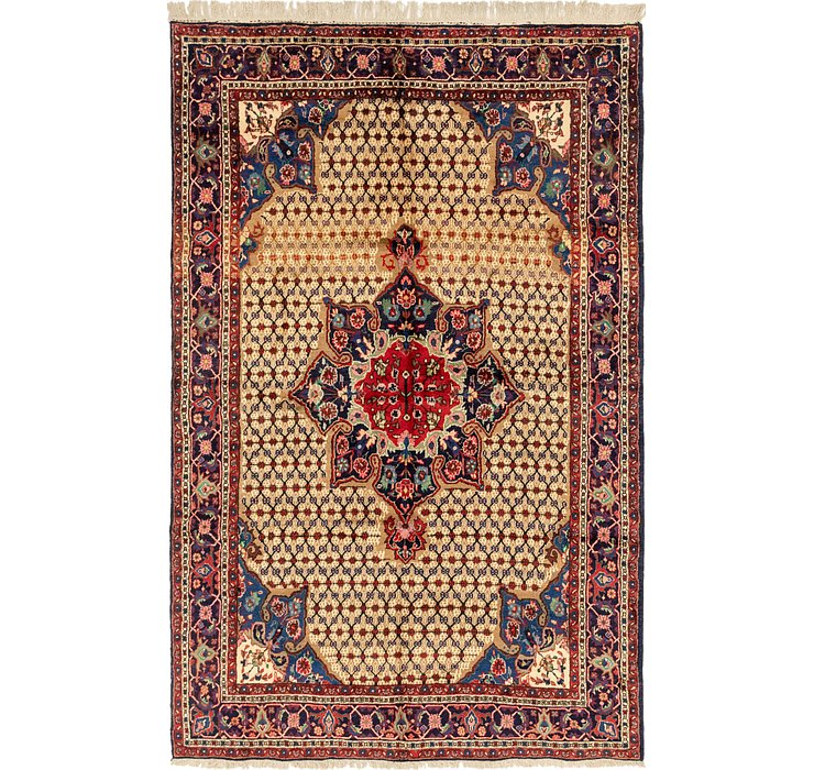 6' 7 x 10' 7 Songhor Persian Rug