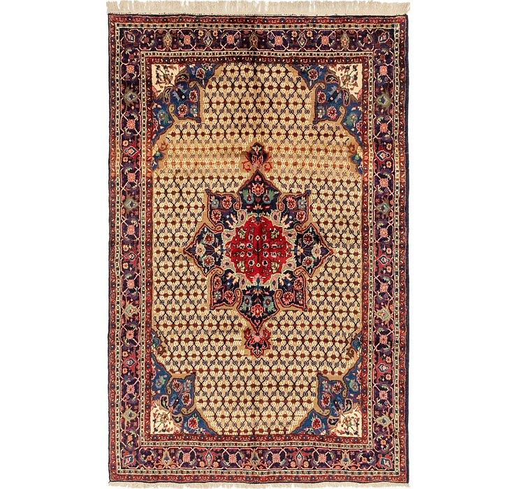 6' 7 x 10' 7 Songhor Persian Rug