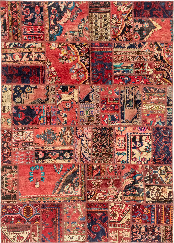 Multicolor 6 4 X 9 Patchwork Persian Rug Irugs Uk