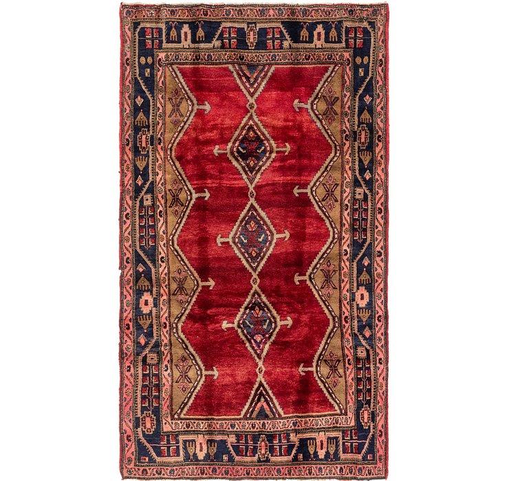 5' 2 x 9' Chenar Persian Rug