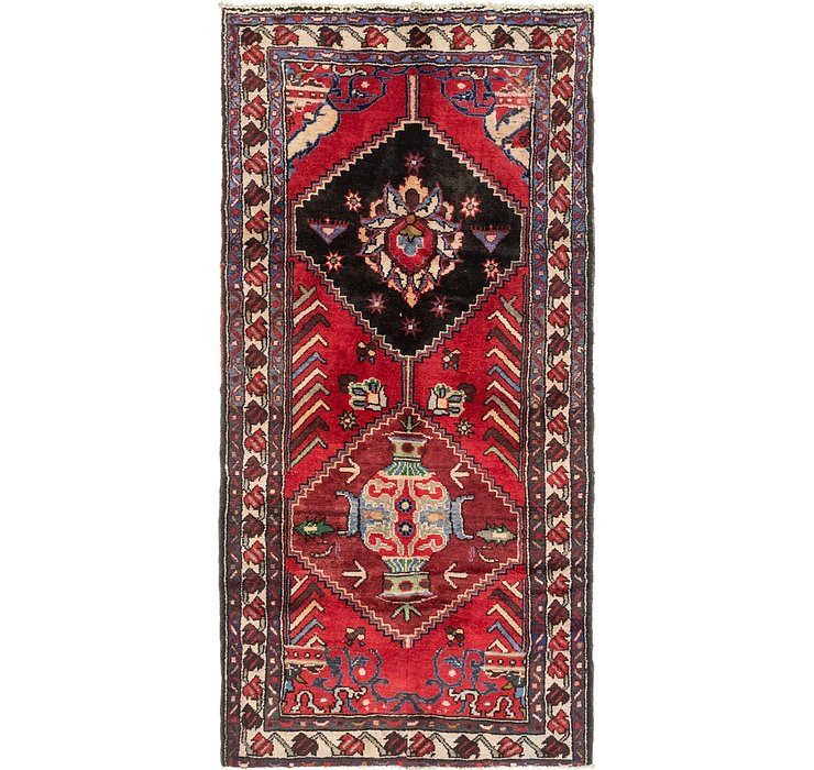 3' 6 x 7' 2 Hamedan Persian Runner ...