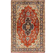 Link to 4' 3 x 6' 5 Tabriz Persian Rug
