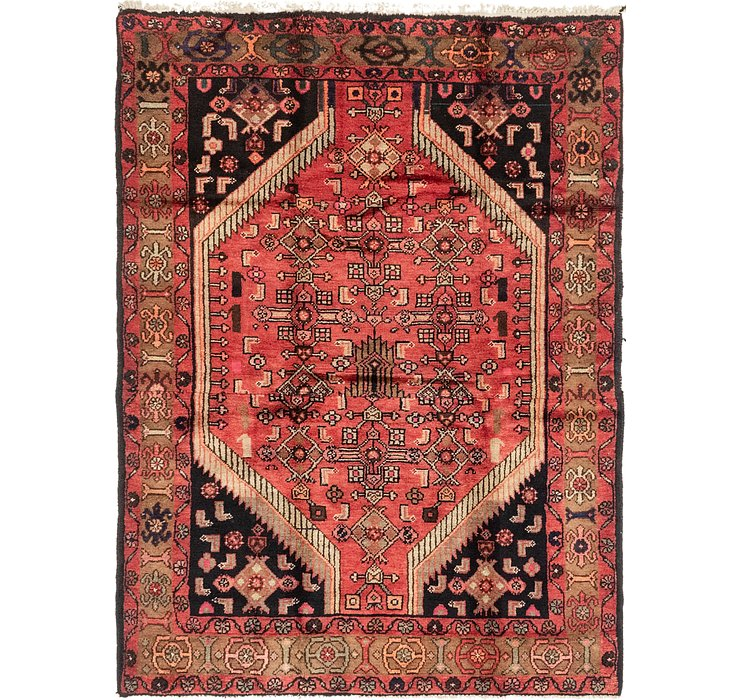 4' 9 x 6' 4 Darjazin Persian Rug