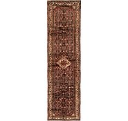 Link to 117cm x 427cm Hossainabad Persian Runner Rug