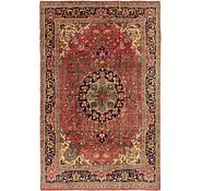 Link to 4' 6 x 6' 9 Tabriz Persian Rug