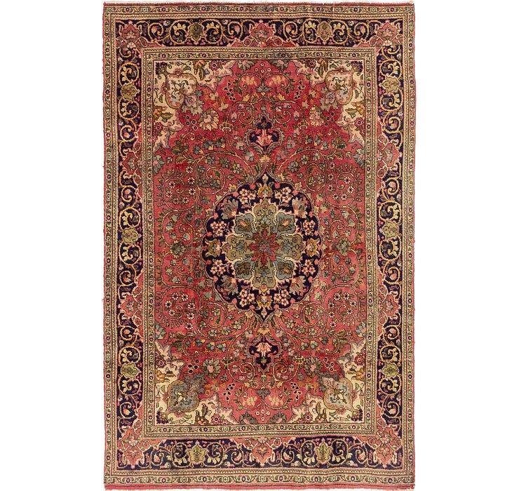 4' 6 x 6' 9 Tabriz Persian Rug