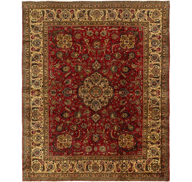 10' 5 x 12' 10 Tabriz Persian Rug