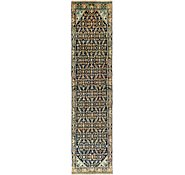 Link to 100cm x 410cm Hossainabad Persian Runner Rug