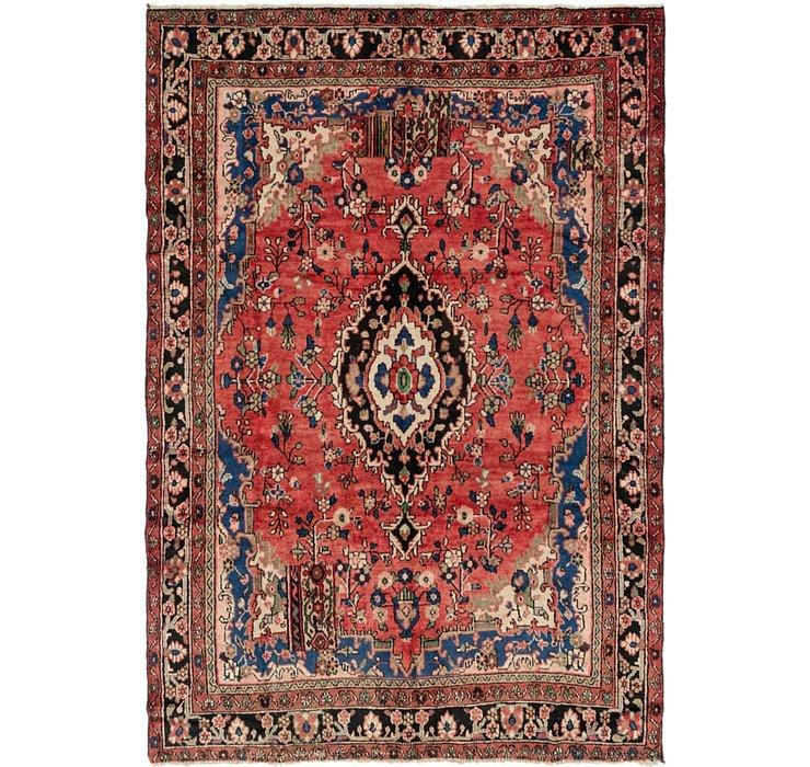 198cm x 292cm Hamedan Persian Rug
