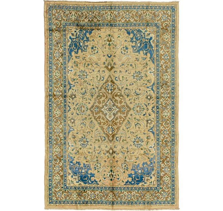 7' 3 x 11' 4 Mashad Persian Rug