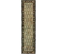Link to 105cm x 400cm Hossainabad Persian Runner Rug
