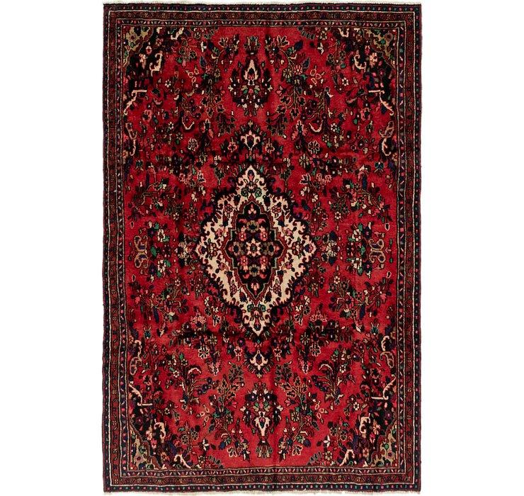6' 2 x 9' 7 Shahrbaft Persian Rug