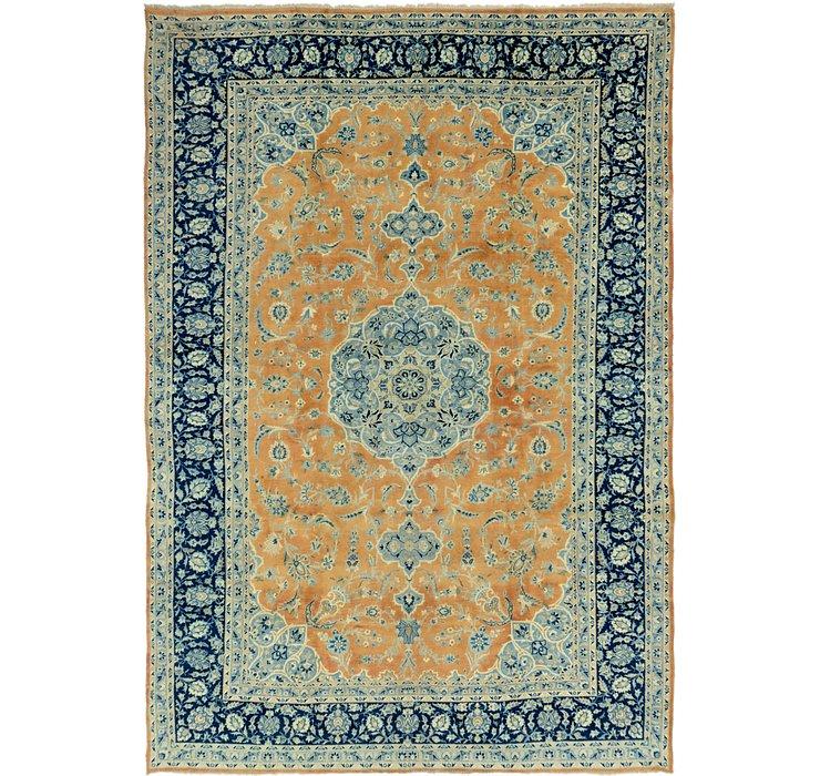 9' 6 x 13' 7 Kashan Persian Rug