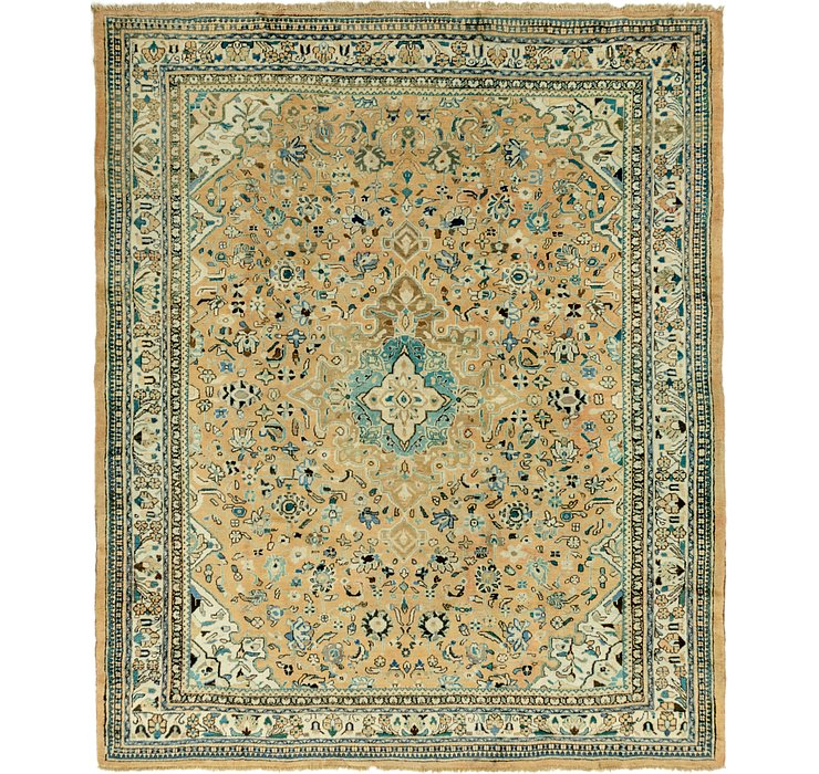 312cm x 380cm Mahal Persian Rug