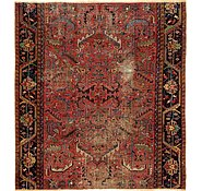 Link to 9' x 9' 9 Heriz Persian Square Rug