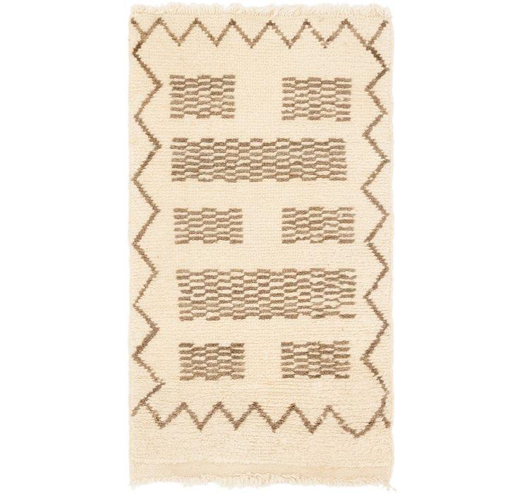 53cm x 100cm Moroccan Rug