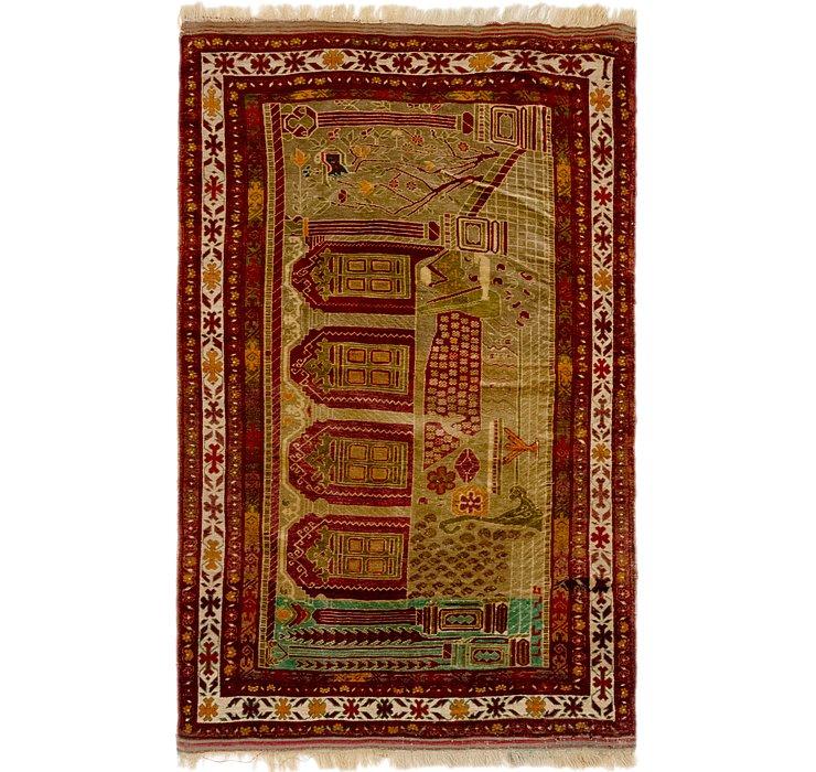3' 9 x 6' 5 Anatolian Oriental Rug