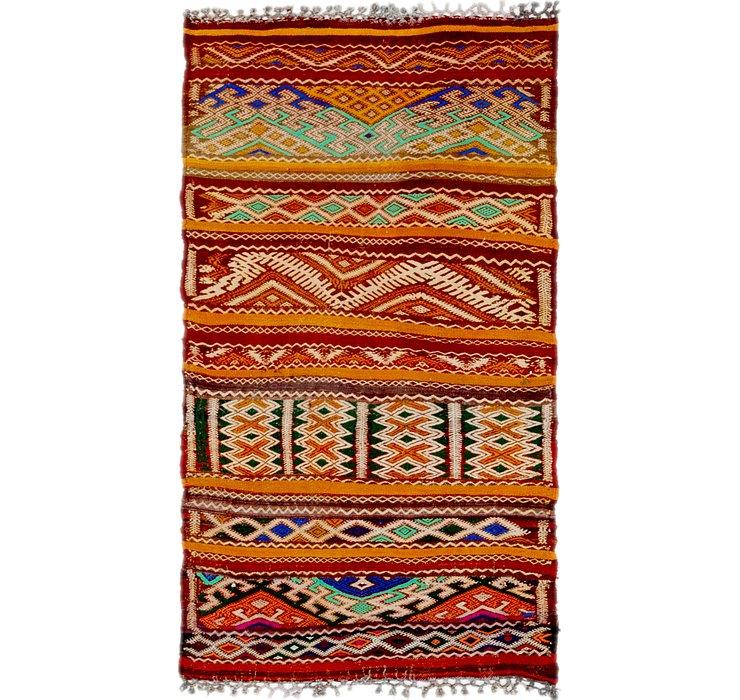 2' 7 x 5' Moroccan Rug