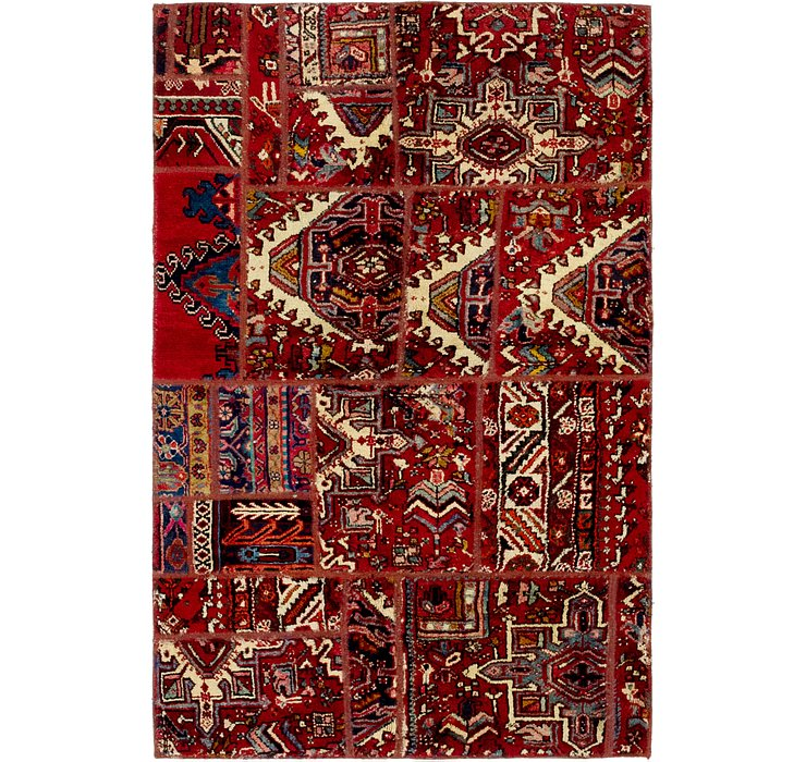 117cm x 183cm Ultra Vintage Persian Rug