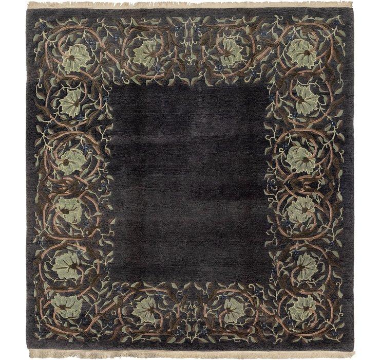 8' 2 x 8' 5 Nepal Square Rug